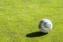 Calcio o pallone da calcio Fotografie Stock Libere da Diritti