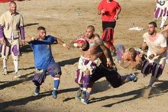 Calcio Storico Fiorentino Fotos de Stock