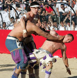 Calcio storico,florence,italy Royalty Free Stock Images