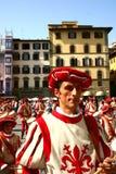 Calcio storico in Florenz, Italien Stockfotos