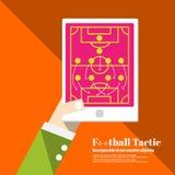 Calcio Tactican royalty illustrazione gratis