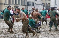 Calciostorico, Florence, Italië Royalty-vrije Stock Fotografie