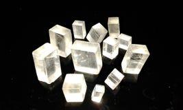 Calcite Cristal Στοκ εικόνες με δικαίωμα ελεύθερης χρήσης