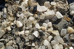 Calcite Crystals Royalty Free Stock Images