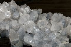 Calcite Crystals Cluster Royalty Free Stock Photography