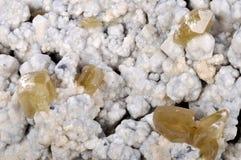 Calcite e Sphalerite Imagens de Stock Royalty Free