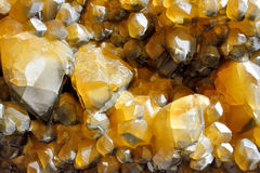 Calcite mine Royalty Free Stock Image