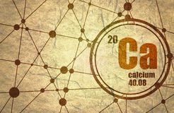 Calcium chemical element.