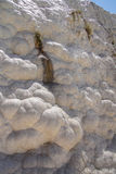 Calcium deposits   travertine Stock Photo