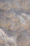 Calcium deposits   travertine Stock Image