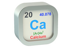 Calcium Royalty Free Stock Photo
