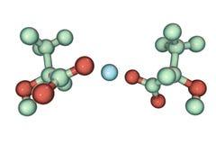 Calcium lactate molecule