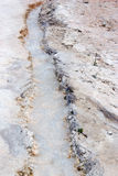 Calcium river in pamukkale Royalty Free Stock Photography