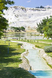 Calcium spring. Pamukkale. Stock Photos