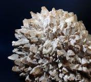 Calcium stone. Calcium mineral stone element detail Royalty Free Stock Image
