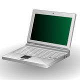 Calcolatore-Computer portatile Fotografia Stock Libera da Diritti