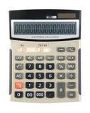 Calcolatore con zero Fotografia Stock