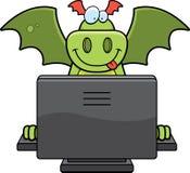 Calcolatore del drago royalty illustrazione gratis