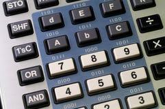 Calcolatore del programmatore Fotografia Stock