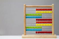 Calcolatore dell'abbaco Immagine Stock