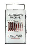 Calcolatore dell'annata Immagini Stock