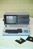 Calcolatore dell'annata Fotografia Stock Libera da Diritti