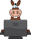 Calcolatore dell'asino illustrazione di stock