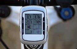 Calcolatore della bicicletta Fotografie Stock