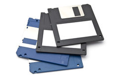 Calcolatore a disco magnetico Fotografia Stock Libera da Diritti
