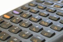 Calcolatore finanziario fotografia stock