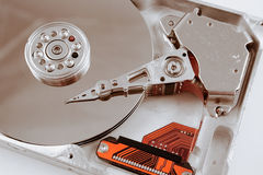 Calcolatore Harddrive Immagine Stock Libera da Diritti