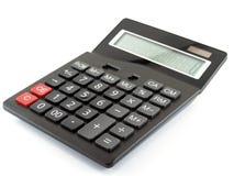Calcolatore isolato su priorità bassa bianca Fotografie Stock Libere da Diritti
