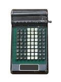 Calcolatore manuale dell'annata isolato. fotografie stock libere da diritti