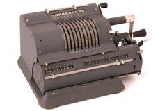 Calcolatore meccanico fotografia stock libera da diritti