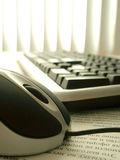 Calcolatore nell'ufficio #10 Fotografia Stock Libera da Diritti