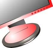 Calcolatore rosso royalty illustrazione gratis