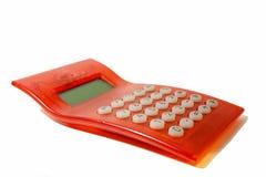 Calcolatore rosso Immagini Stock Libere da Diritti