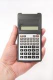 Calcolatore scientifico a disposizione Immagini Stock