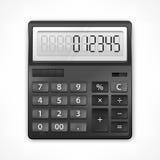 Calcolatore su bianco illustrazione vettoriale