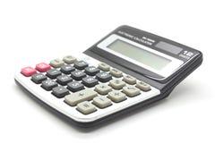 Calcolatore su una priorità bassa bianca Fotografia Stock