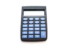 Calcolatore sui precedenti bianchi Immagini Stock Libere da Diritti