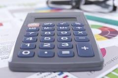 Calcolatore sul Worktable Immagine Stock Libera da Diritti