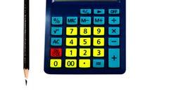 Calcolatore variopinto del primo piano Fotografia Stock Libera da Diritti