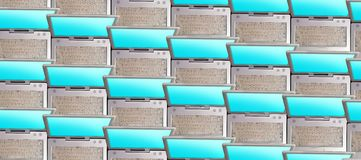 Calcolatori illustrazione di stock