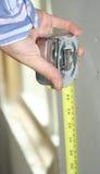 Calcolazione della misura Fotografia Stock Libera da Diritti