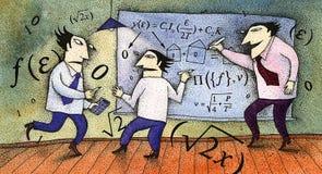 Calcoli illustrazione di stock