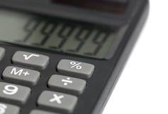 Calcoli con il calcolatore Immagine Stock Libera da Diritti