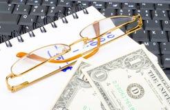 Calcoli dei soldi Immagine Stock Libera da Diritti