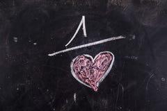Calcoli di amore immagine stock