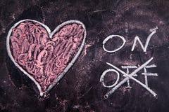 Calcoli di amore immagini stock libere da diritti